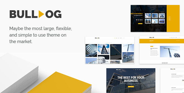 Download Bulldog - Construction - Architect - Building - Builder Multipurpose Theme nulled download