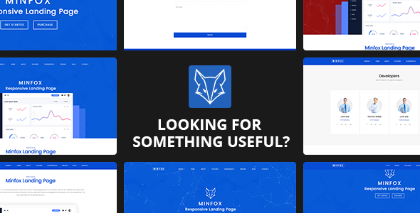 Download Minfox - Responsive Landing Page WordPress Theme nulled download