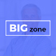 BIG zone - One Page PSD Template