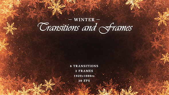 Download Winter Transitions & Frames nulled download