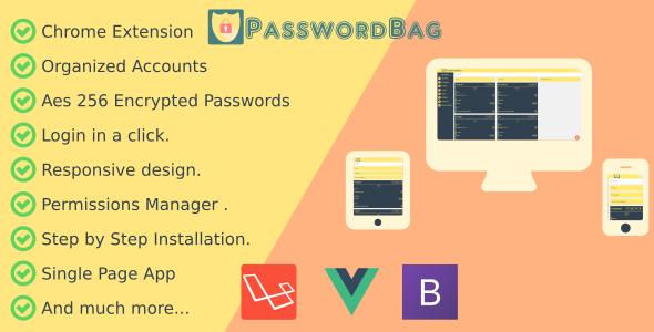 PasswordBag - Powerfull Password Manager