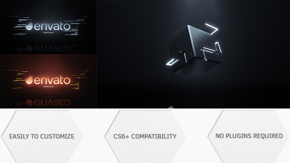 Cube Logo Reveal Abstract After Effects Templates F5 Design