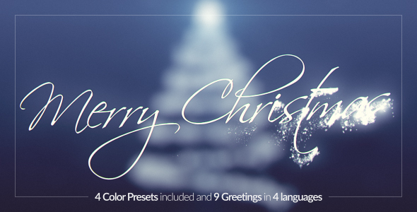 Download Christmas Tree Greetings nulled download