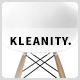 Kleanity - тема портфолио в духе минимализма на WordPress