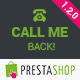 Call Me Back - PrestaShop Module