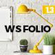 WS Folio - Responsive Portfolio WordPress Theme
