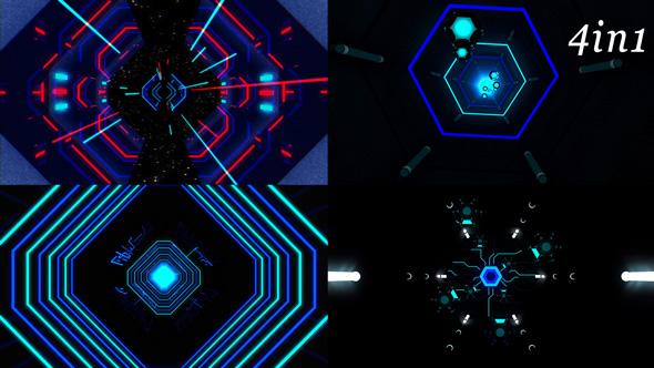 Download Neon Pulse - VJ Loop Pack (4in1) nulled download
