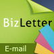 BizLetter - E-mail Template - 5 colors