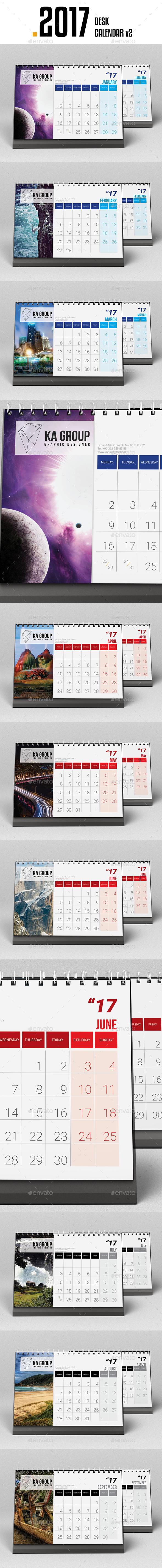 Desk Calendar 2017 v2