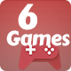 Best 6 Games Bundle-2 HTML5 Mobile Games