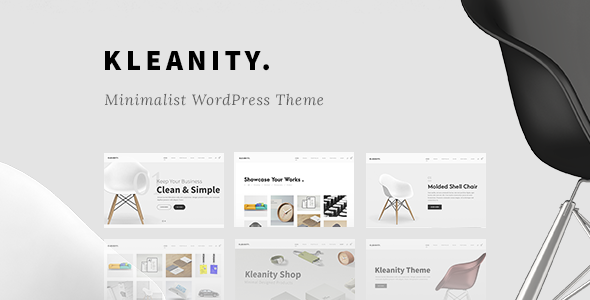 Download Kleanity - Minimalist WordPress Theme / Creative Portfolio nulled download
