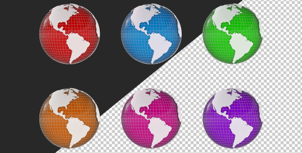 Download 3D Spinning Globe nulled download