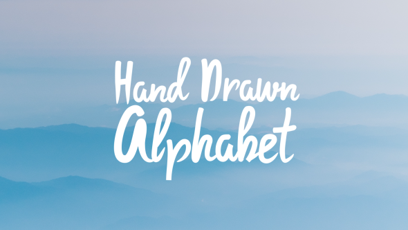 Download Hand Drawn Alphabet nulled download