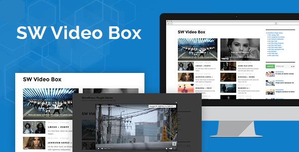 SW Video Box - Responsive WordPress Plugin