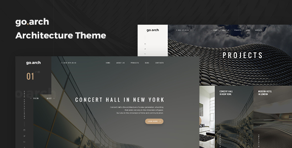 Download go.arch - Architecture & Interior WordPress Theme nulled download