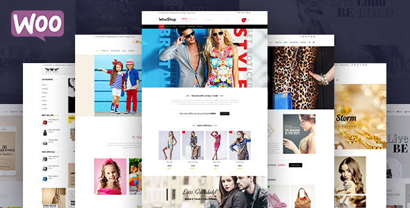 Woo Shop – Multipurpose Shop Theme (Retail)