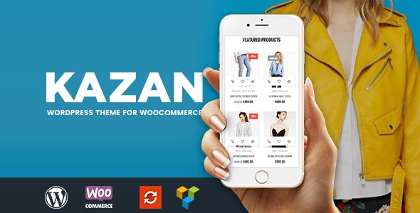 Download Kazan - Fashion Shop WooCommerce Theme nulled download
