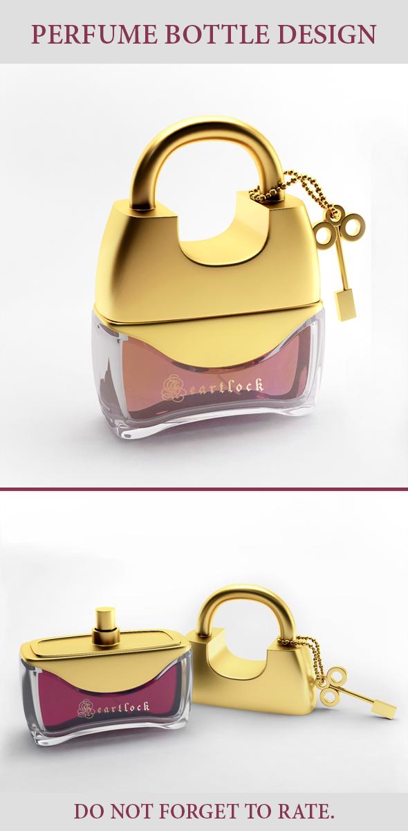Perfume Bottle Design - 3DOcean Item for Sale
