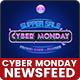 Cyber Monday NewsFeed Ads - 20 PSD [02 SizeEach]