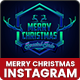 Merry Christmas Instagram Banners Ads - 10 PSD