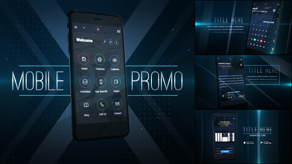 Download Mobile Application Promo nulled download