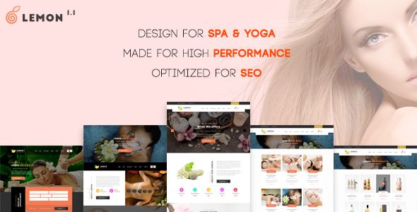 Lemon | Spa & Beauty Responsive Multi-Purpose WordPress Theme