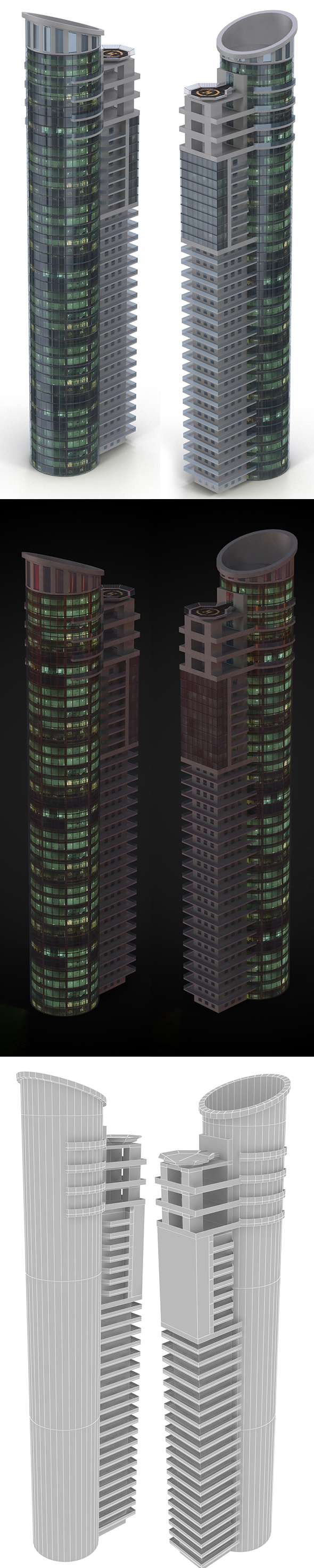 Skyscraper - 3DOcean Item for Sale