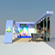 sahara exhibition booth