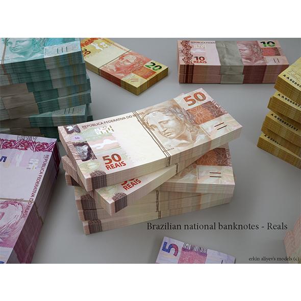Brazilian Reals - 3DOcean Item for Sale
