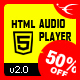 Chameleon HTML5 Audio Player With/Without Playlist