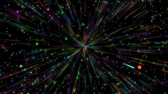 VideoHive Disco Stars Rays 4K 19183438