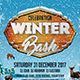 Vintage Winter Bash Flyer