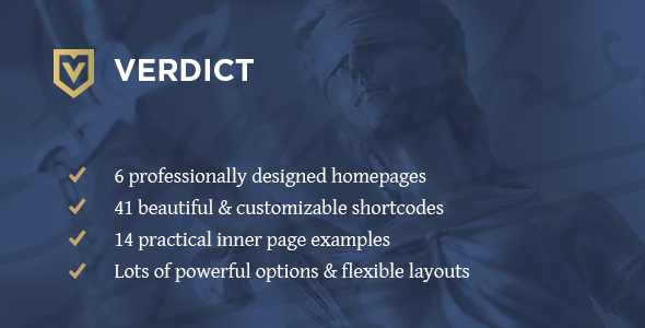 Download Verdict - An Expert Theme for Lawyers, Legal Advisors & Law Firms