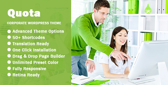 Download Quota - Business & Corporate Responsive WordPress Theme nulled download