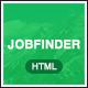 Jobfinder - Job Portal HTML5 Template