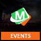 Max Events - Conference PSD Template