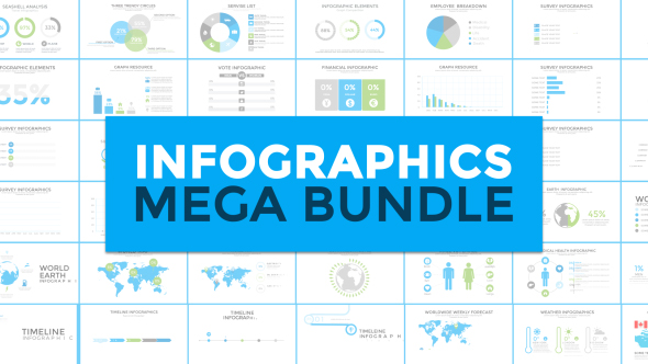 Infographics Mega Bundle Infographics After Effects Templates - Timeline after effects template