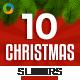 Christmas Sliders - 10 Designs