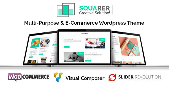 Squarer Multi-Purpose WordPress Theme