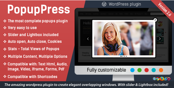 Popup Plugin for WordPress - Popup Press - Popups Slider & Lightbox - 24