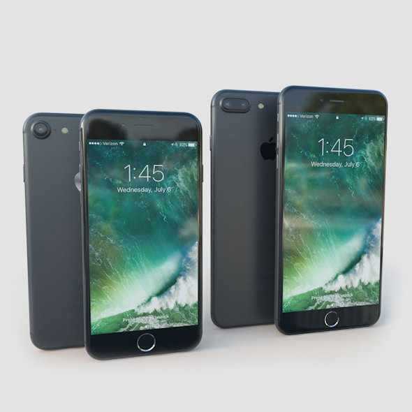 Apple iPhone 7 and 7 Plus - 3DOcean Item for Sale