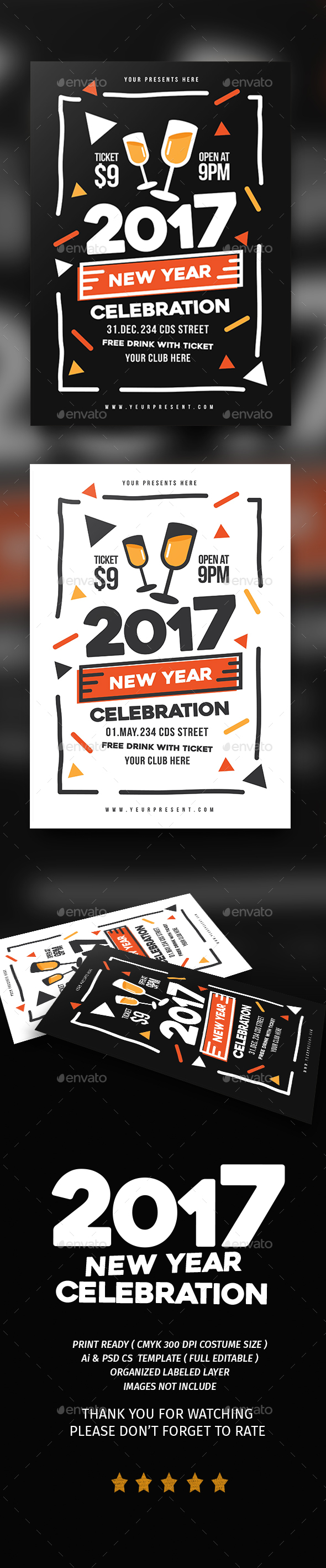 Mimphis New Year Flyer