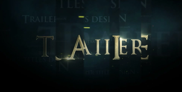 Download Trailer Titles nulled download