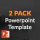 2 PACK BUNDLE Powerpoint Presentation Template