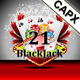 21 BlackJack - HTML5 Casino Game - AdMob<hr/> Cocoon.io app ready &#8211; Construct 2 CAPX&#8221; height=&#8221;80&#8243; width=&#8221;80&#8243;></a></div><div class=