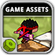 Cube Ninja - Game Assets