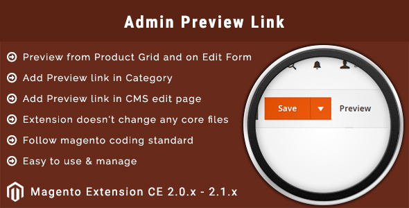 Download Admin Preview Link Magento 2 Extension