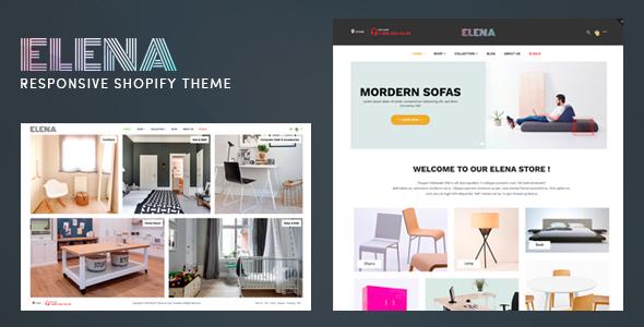 Elena - Responsive Shopify Theme
