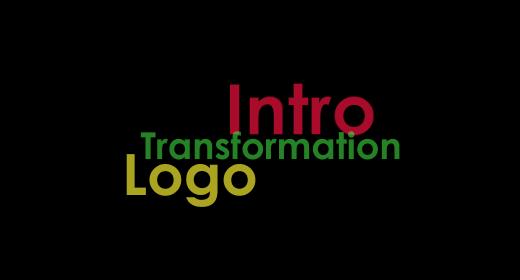 Intro,Logo,Transformation