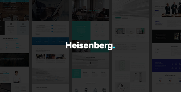 Download Heisenberg - MultiPurpose WordPress Theme